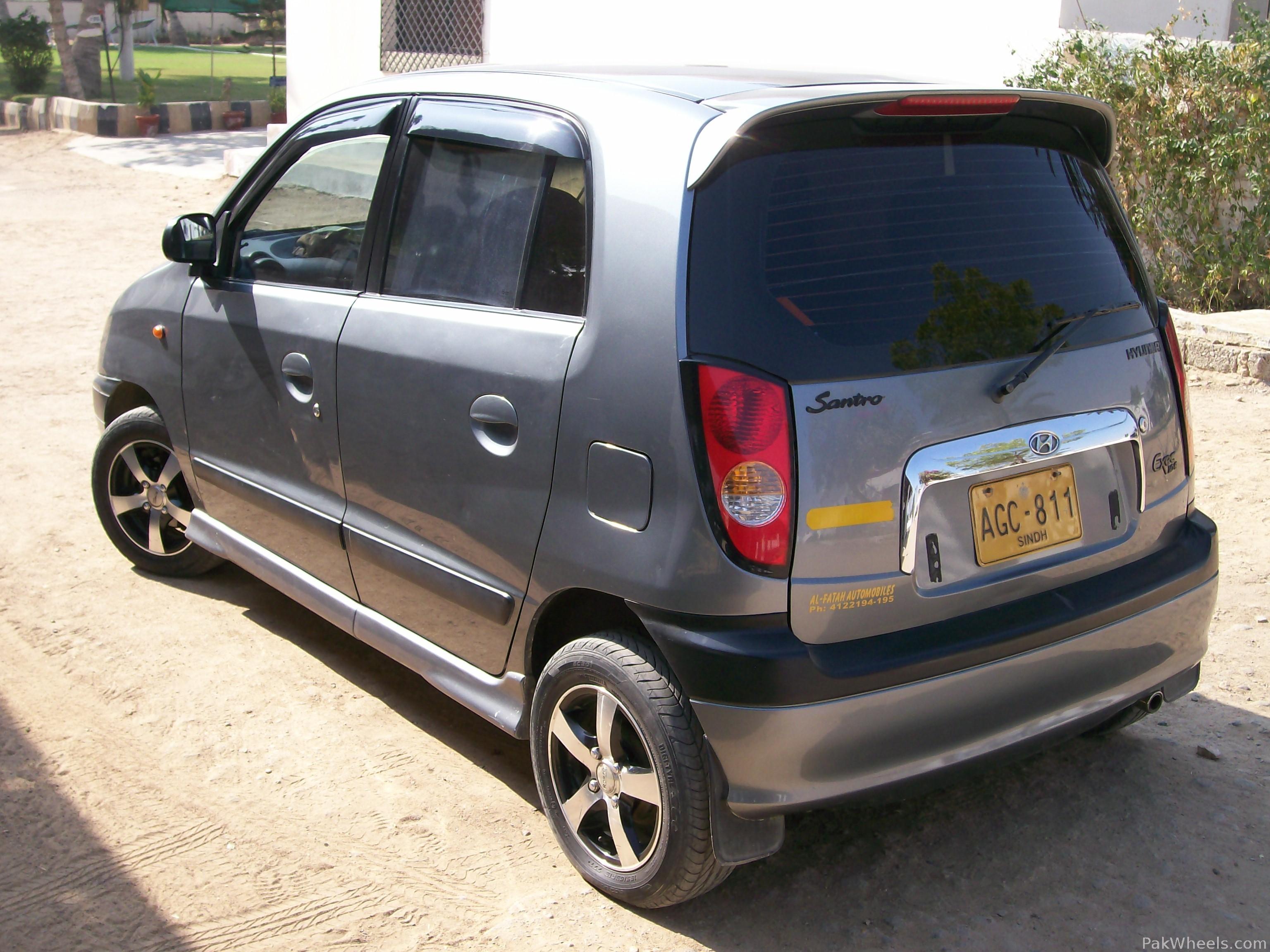 Hyundai Santro 2004 Of 43986 Kamran Member Ride 11603 Pakwheels