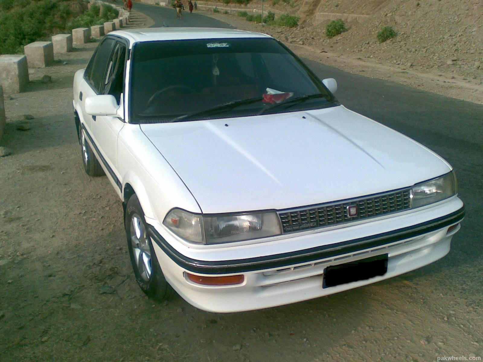 Toyota Corolla - 1990 90 Image-1