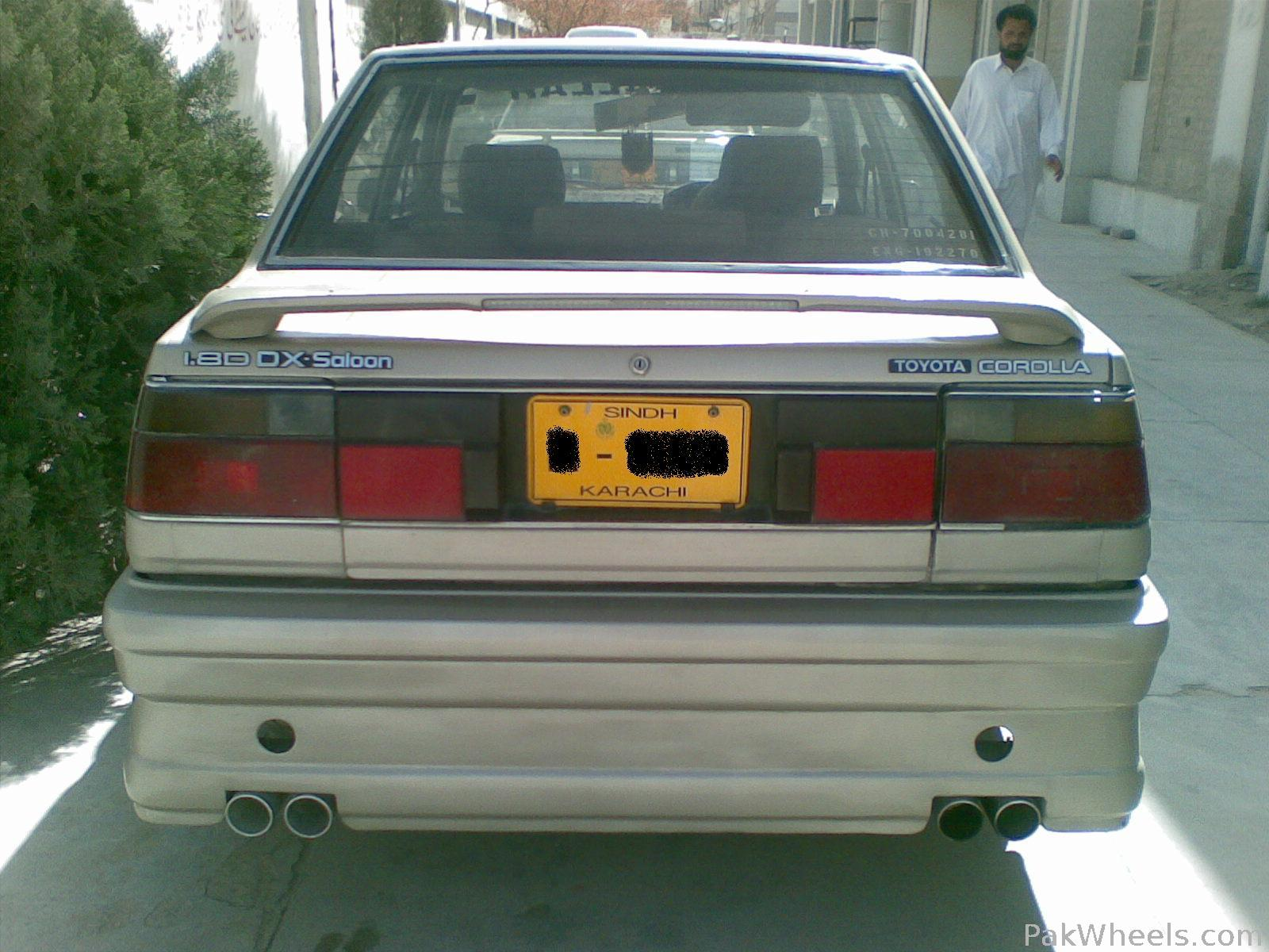 2010 Toyota Corolla For Sale >> Toyota Corolla 1986 of khurram143us - Member Ride 10167 ...