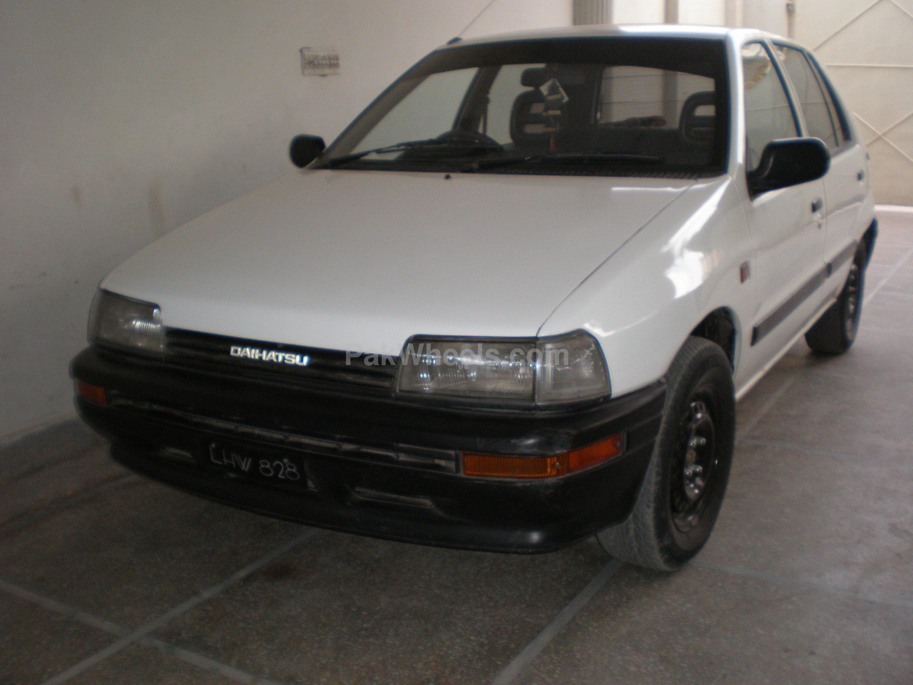 Daihatsu Charade - 1987 Nasha Image-1