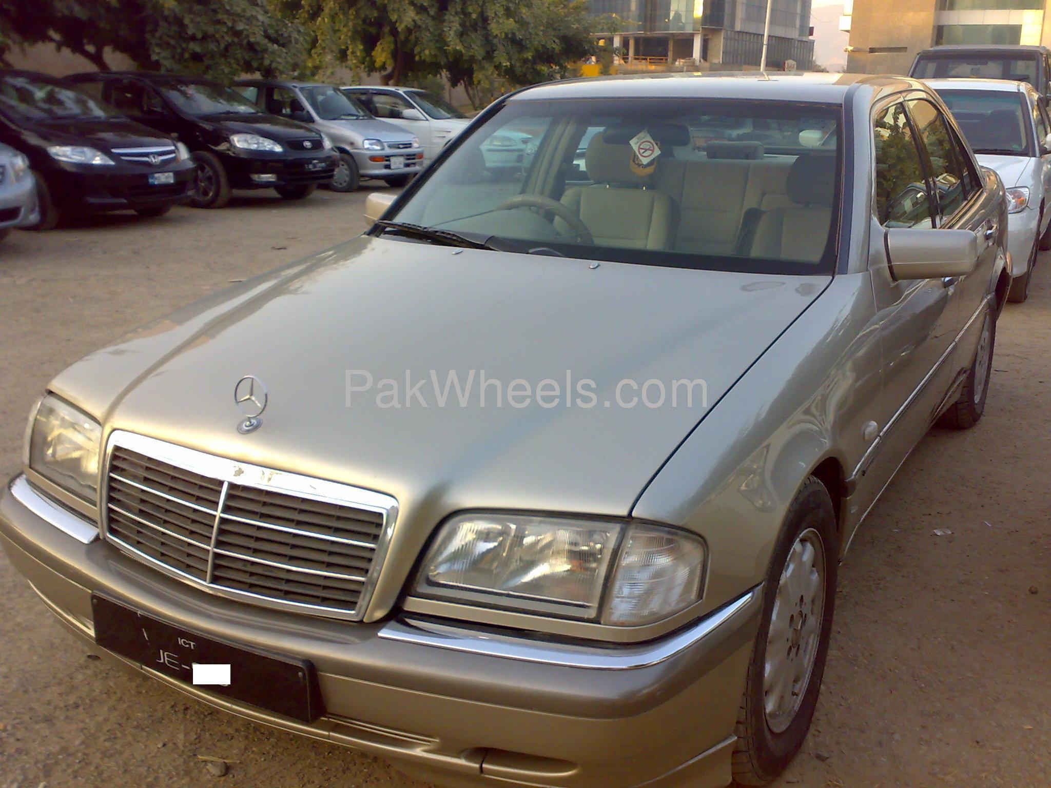 Mercedes benz c class c180 cgi 1997 for sale in islamabad for Mercedes benz c180 for sale