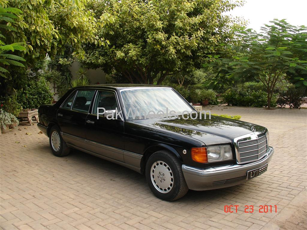 Mercedes benz s class 1990 for sale in lahore pakwheels for Used mercedes benz rims for sale