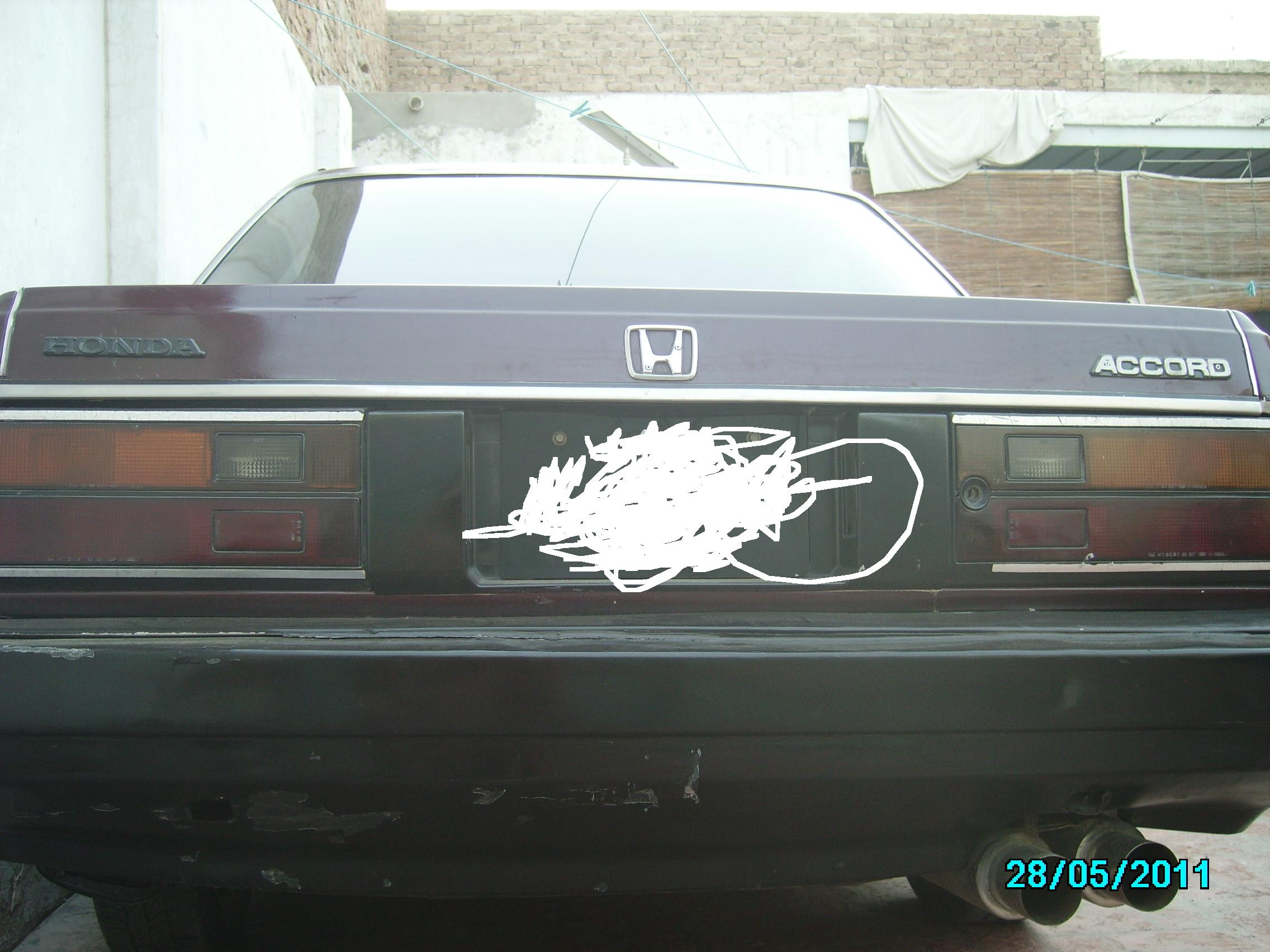 Honda Accord 1985 of Muhammad Shahid - 40087