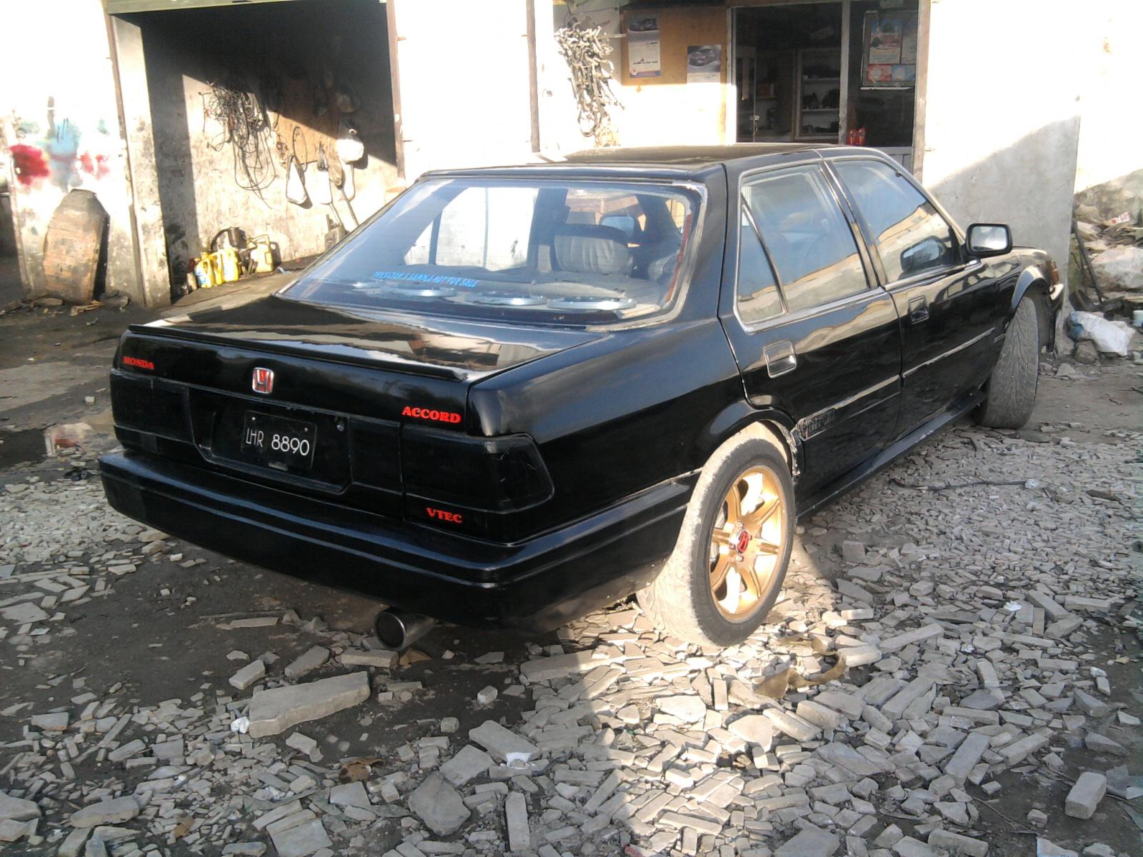 Honda Accord 1987 For Sale in Pakistan Honda Accord 1987 of