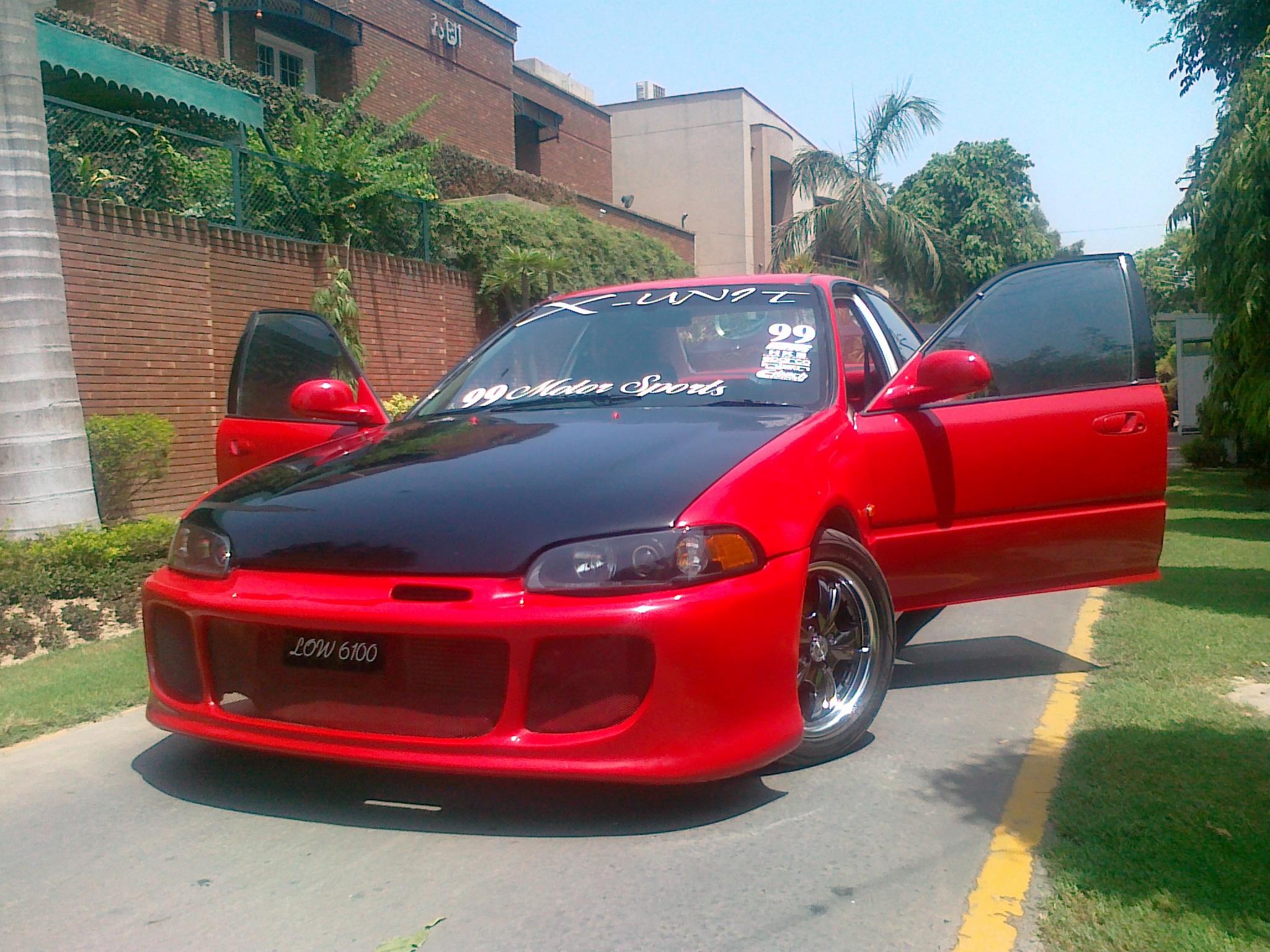 2011 Honda Civic For Sale >> Honda Civic 1995 of crazi99 - Member Ride 15080   PakWheels
