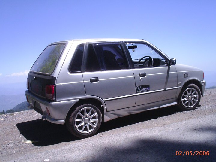 Suzuki Mehran - 2004 silvo  Image-1
