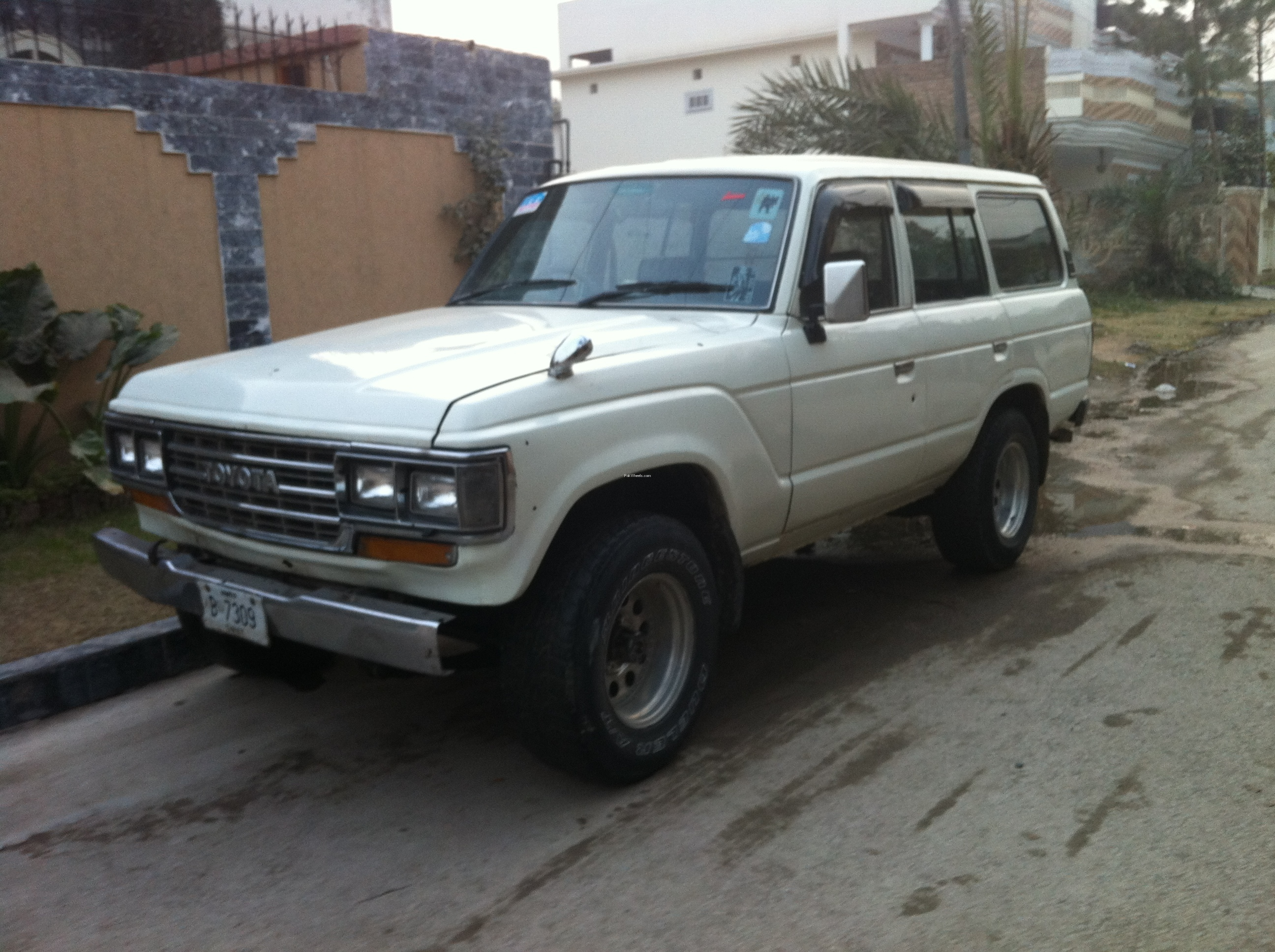 Toyota Land Cruiser 1984 Of Khattak12344 Member Ride