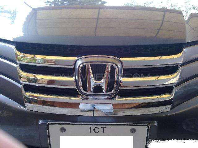 Front Grill chrome Honda City 2009  Image-1