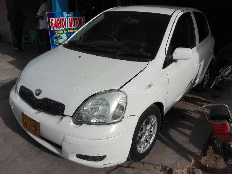 Toyota Vitz B 1.0 2003 Image-2