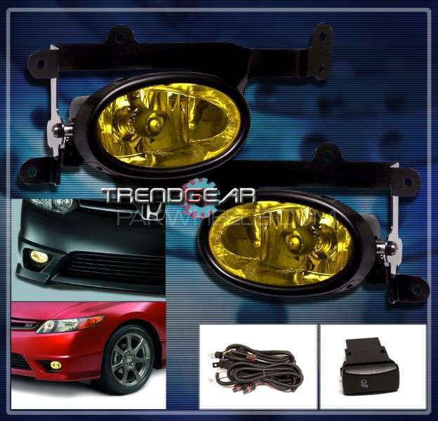 Fog lights For Honda Civic  Image-1