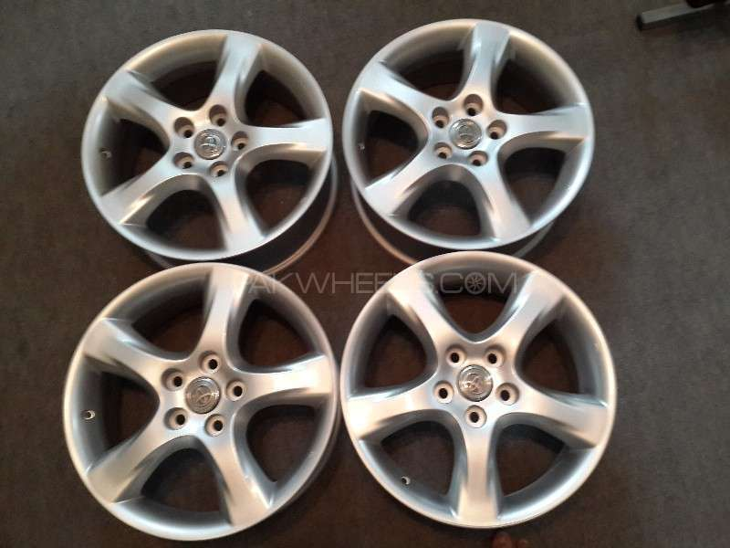 "17"" Original Toyota OEM Rims (5x114.3)7JJ  For Sale Image-1"