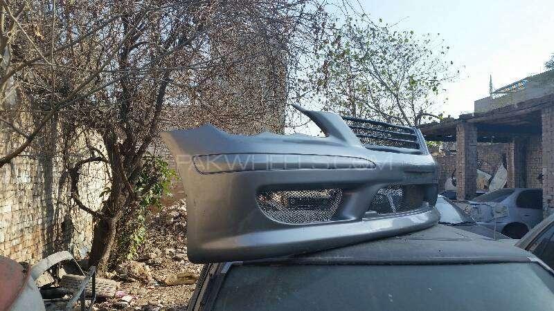 Toyota MARK X Japnese Fiber Front Bumper For Sell Image-1