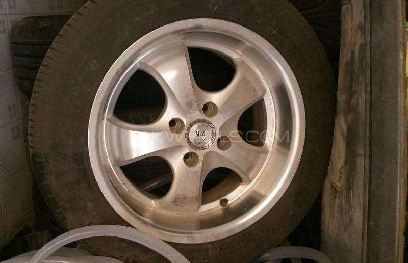 15 alloy rims and tyres Image-1