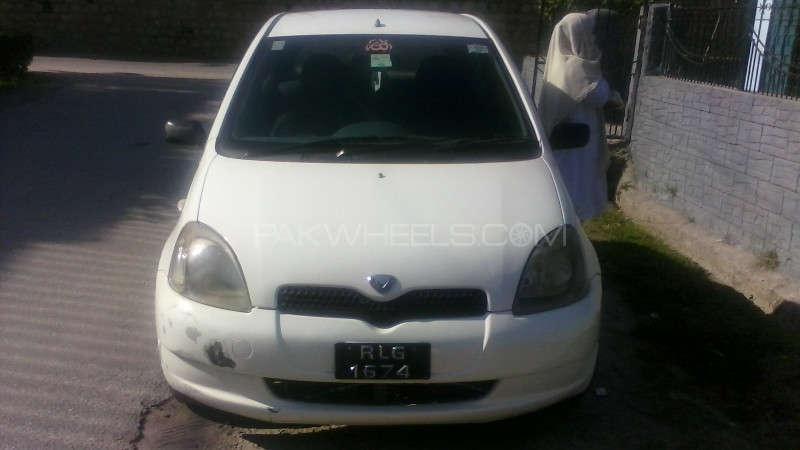 Toyota Vitz B 1.0 1999 Image-1