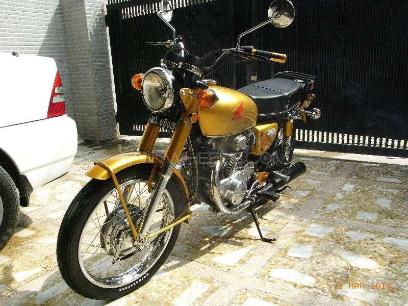 Honda CB 350 1972 Image-1
