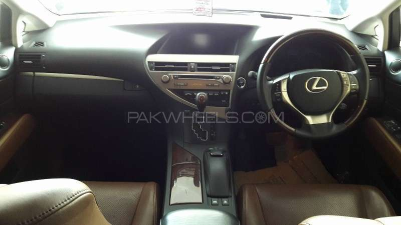 Lexus RX Series 450H 2012 Image-5