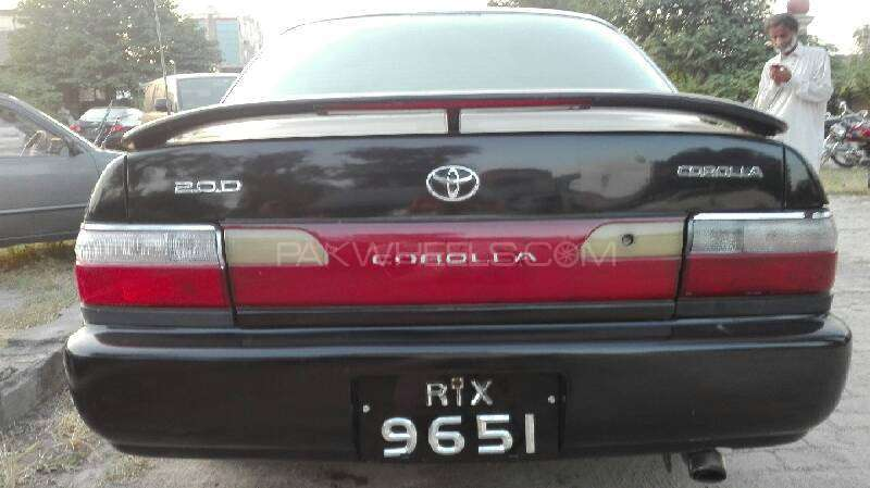 Toyota Corolla 2.0D Limited 2001 Image-5