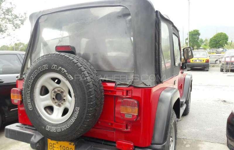 Jeep Wrangler 1990 Image-3