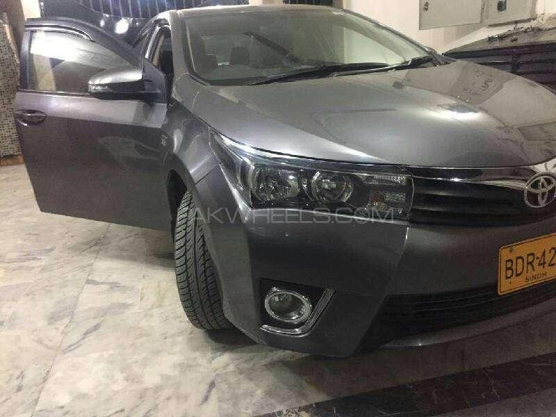 Toyota Corolla Altis Automatic 1.6 2015 Image-3