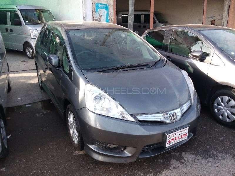 Honda Fit Hybrid Navi Premium Selection 2012 Image-4