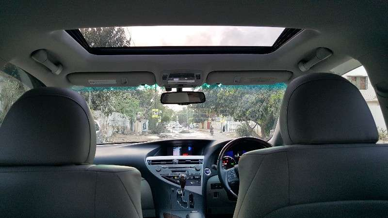 Lexus RX Series 450H 2011 Image-11