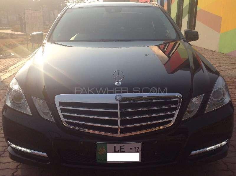 Mercedes Benz E Class E200 2012 Image-3