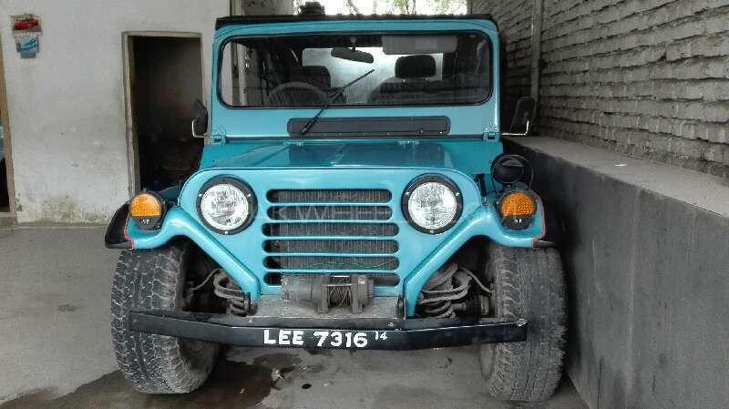 Jeep M 151 Standard 1987 Image-8