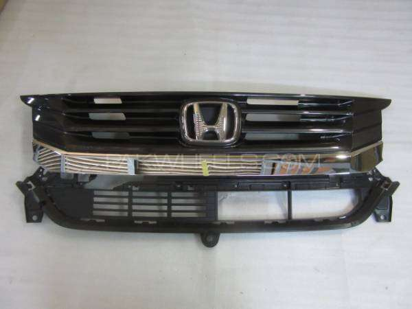 honda n wagon cstm front grill Image-1
