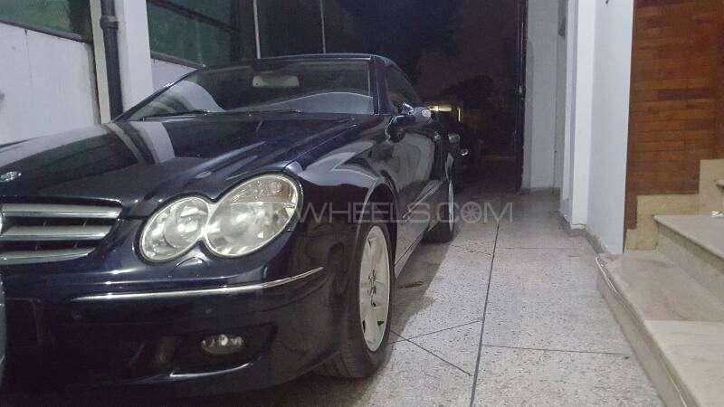 Mercedes Benz CLK Class CLK200 Kompressor Cabriolet 2006 Image-3