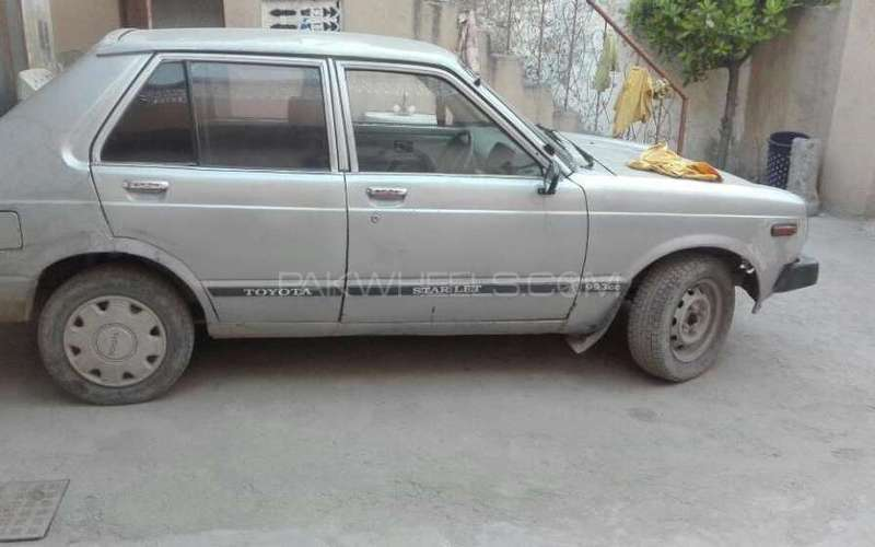 toyota starlet 1 0 1981 for sale in rawalpindi pakwheels. Black Bedroom Furniture Sets. Home Design Ideas