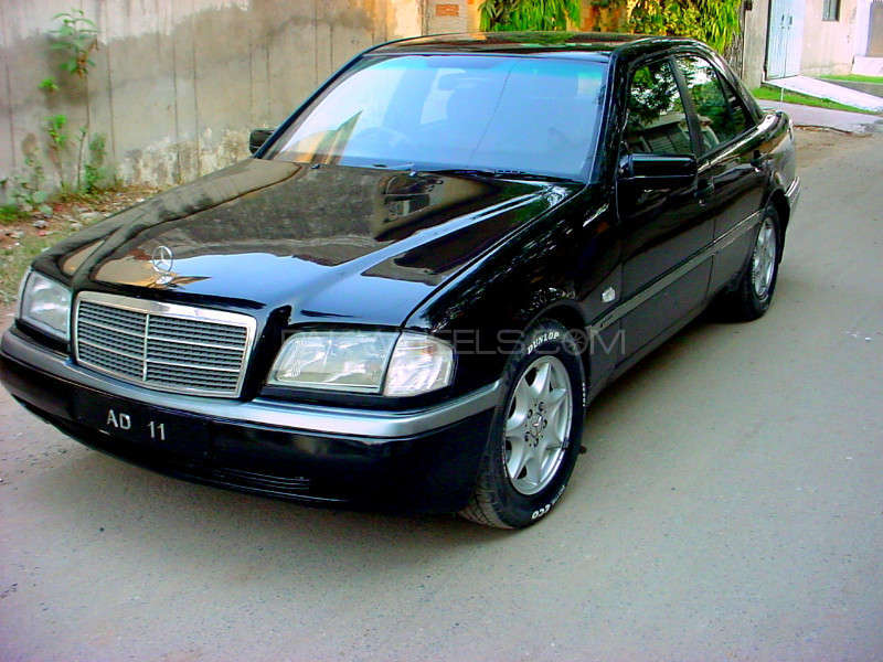 mercedes benz c class c180 1996 for sale in lahore pakwheels. Black Bedroom Furniture Sets. Home Design Ideas