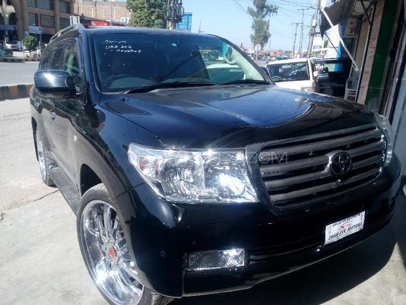 Toyota Land Cruiser ZX 60th Black Leather Selection 2011 Image-2