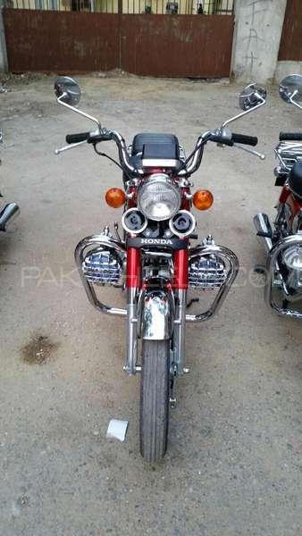 Honda CD 200  1983 Image-1