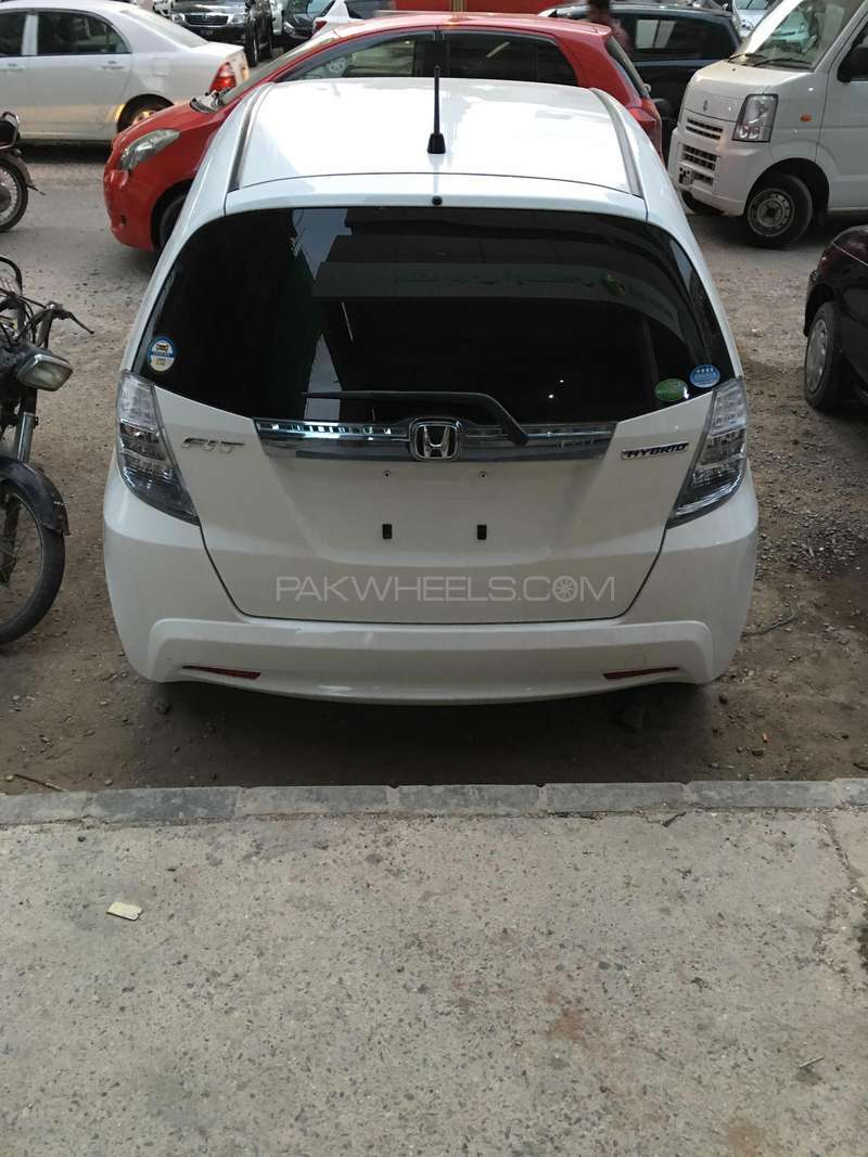 Honda Fit Hybrid Navi Premium Selection 2012 Image-3