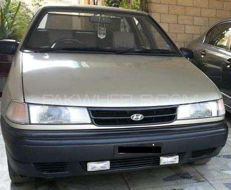 Hyundai Excel Basegrade 1992 Image-3