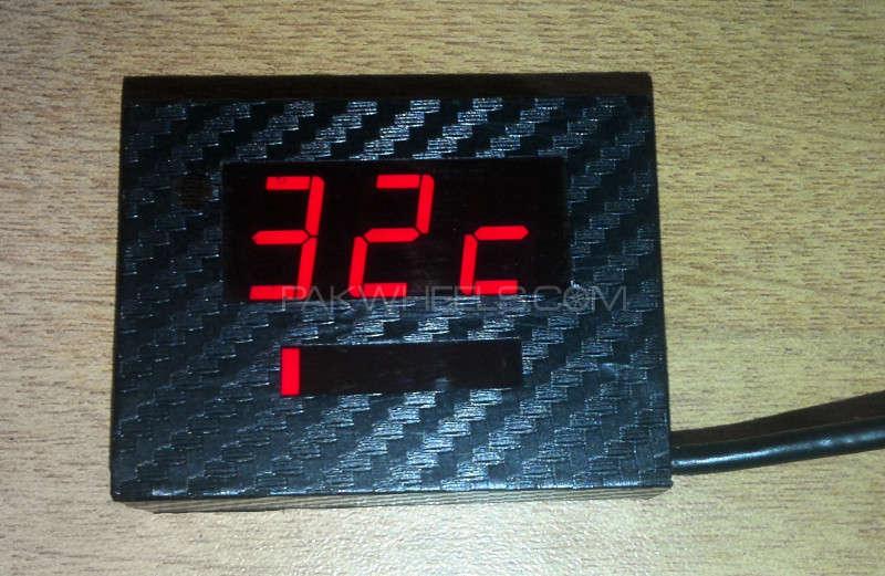 Engine Digital Temperature Meter with Over Heat Alarm  Image-1