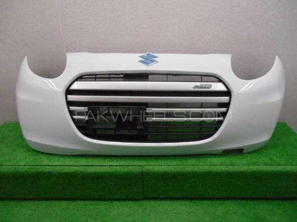 suzuki alto front bumper 2014 complete Image-1