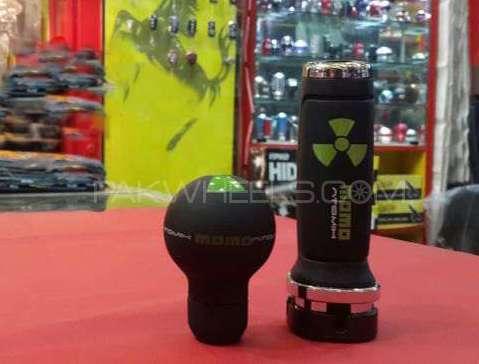 Momo Atomic Gear And Handbrake Knob Image-1