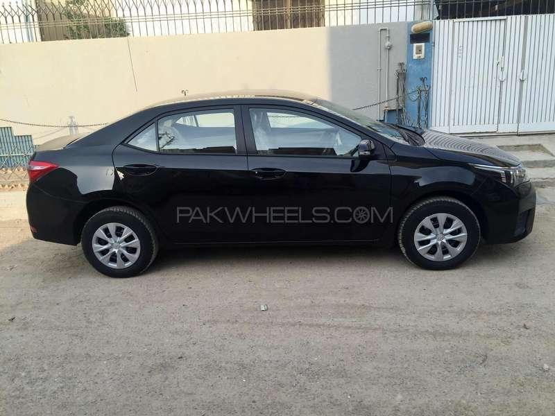 used toyota corolla xli vvti 2016 car for sale in karachi pakwheels. Black Bedroom Furniture Sets. Home Design Ideas