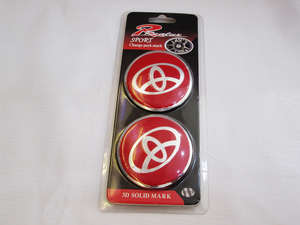 Wheel Caps Emblem - Toyota  in Lahore