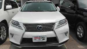Lexus RX Series 450H 2012 for Sale in Lahore