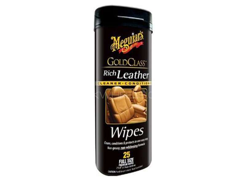 Meguiar's Gold Class Rich Leather Wipes - G10900 Image-1