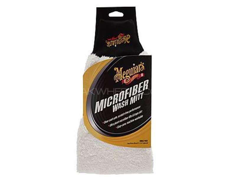 Meguiar's Super Thick Microfibre Wash Mitt - X3002EU Image-1