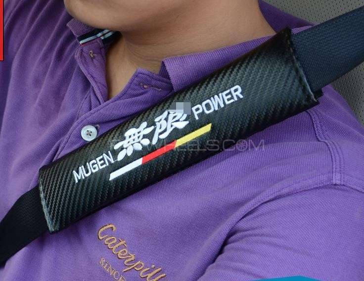 Seat Belt Cover - MUGEN POWER in Lahore