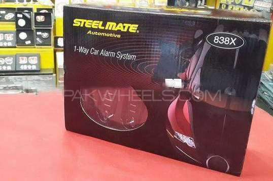 1- Way Car Alarm System Steelmate New Image-1