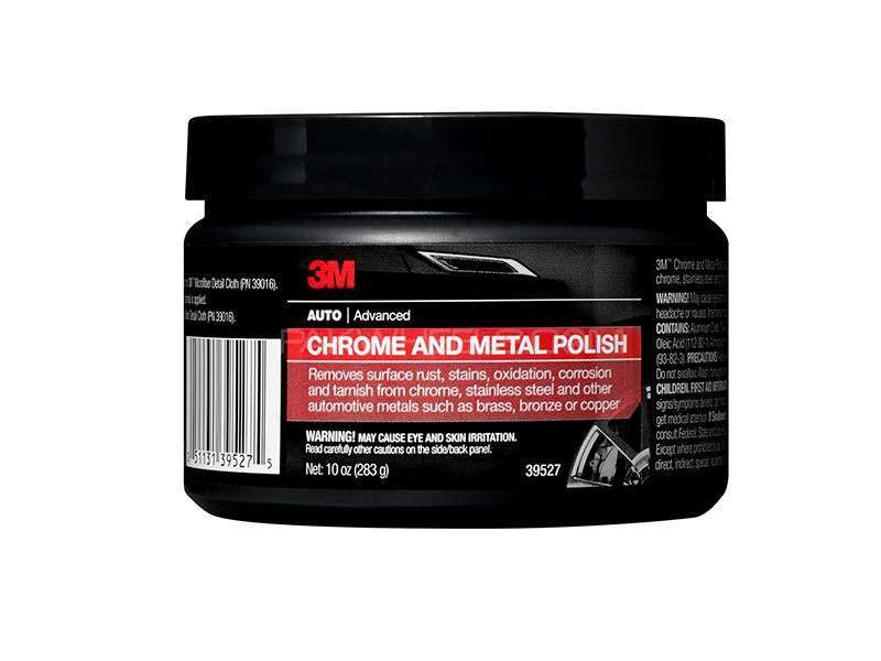 3M™ Chrome and Metal Polish, 39527, Net wt 10 oz Image-1