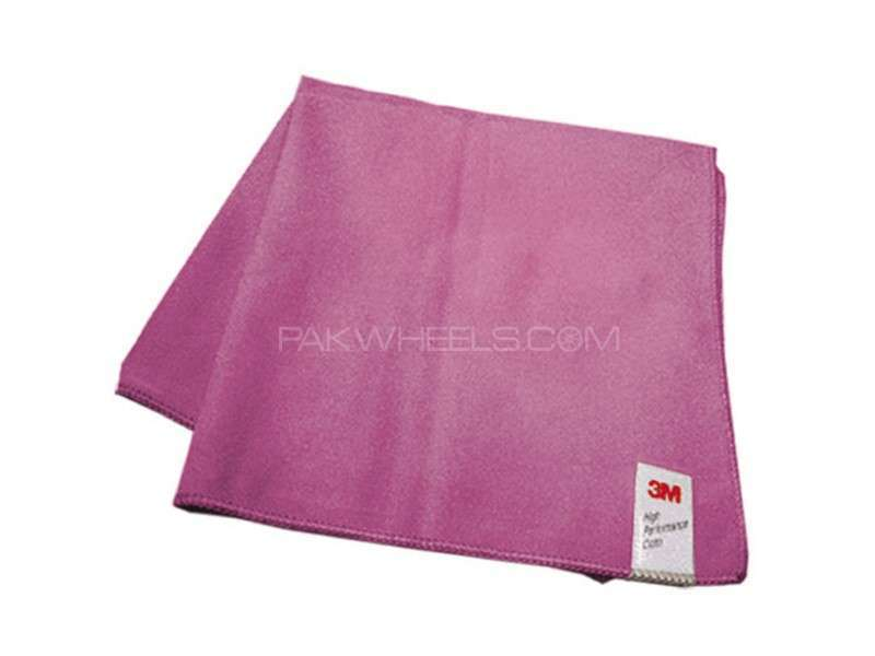 3M™ Perfect-it™ III High Performance Polishing Cloth - Pink Image-1