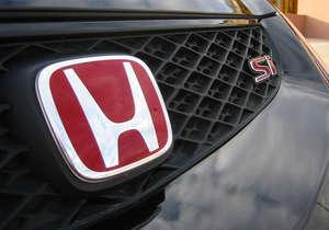 Honda Front & Back Emblem - Red  in Lahore