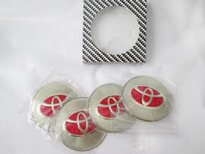 Wheel Cap Emblem - Toyota  in Lahore