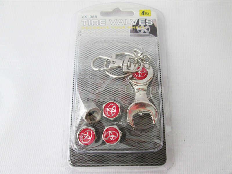 Valve Cap - Toyota - With Opening Key Image-1